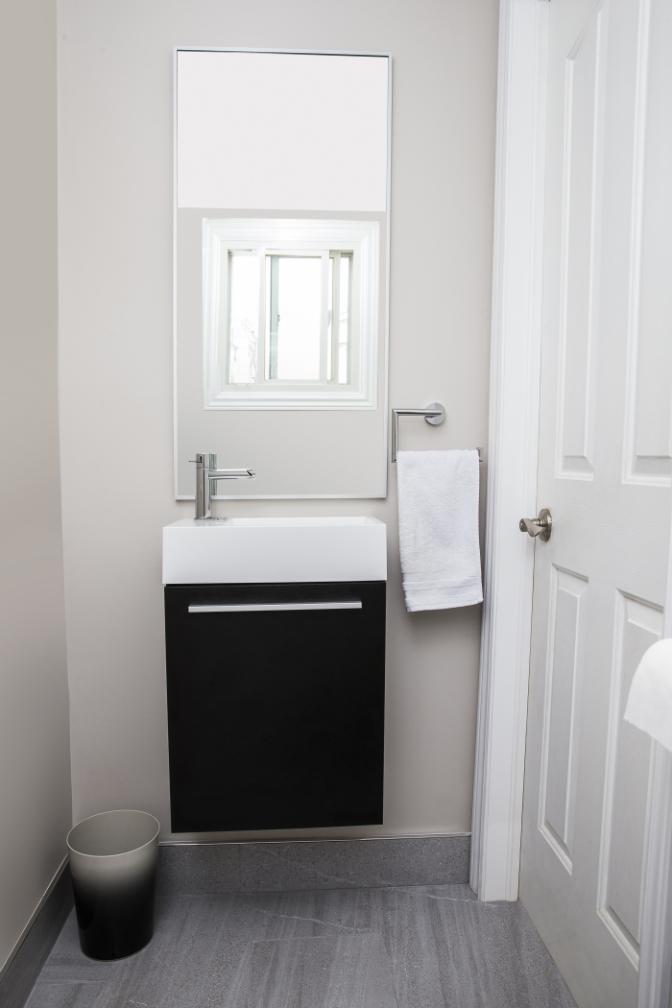 The Powder Room Half Bathroom 2 Piece Elegant Bathrooms